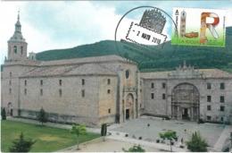 SPAIN. MAXICARD FIRST DAY SAN MILLAN DE YUSO MONASTERY. 2019 - Maximum Kaarten