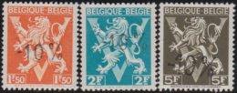 Belgie    .    OBP   .    724  G/H/I    .    **  .    Postfris ZONDER  Charnier    .  / .  Neuf SANS  Charniere - Neufs