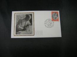 """BELG.1992 2451 FDC Zijde/soie (Antwerpen) : """"  Journée Du Timbre / Dag Van De Postzegel """" - FDC"""