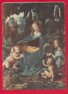 CEDOLA COMMISSIONE LIBRARIA NV ITALIA - La Vergine Delle Rocce - LEONARDO DA VINCI - Ed. LIBRI UTILI ROMA - 10 X 15 - Pubblicitari