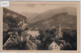 Feldkirch - Teilansicht - Frankatur 1924 In Die Schweiz - Feldkirch