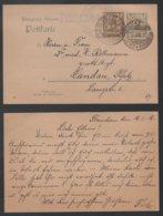 KW FELDPOSTEXP. D. 27  INFANT. DIVISION / 1916 GSK VON FLANDERN NACH LANDAU - PFALZ (ref LE258) - Briefe U. Dokumente