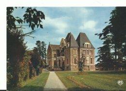 61 Ecouche Le Chateau De Mesnil Glaise  Arbres Fleurs - Ecouche