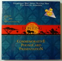 New Zealand - GPT - Walt Disney Lion King - Limited Edition 4000ex - Mint In Folder - Nieuw-Zeeland
