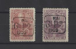 HAITI . YT  N° 75-76   Neuf *  1902 - Haïti