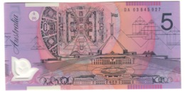 Australia 5 Dollars 2003 UNC .PL. - 2001-2003 (Polymer)
