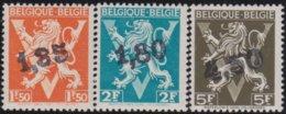 Belgie .  OBP .  724  DD/EE/FF  .  Ghislenghien  .    **  .    Postfris ZONDER  Charnier    .  / .  Neuf SANS  Charniere - Neufs