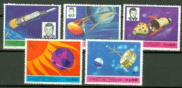 Parayguay 5 Werte Aus 1901/06 ** Postfrisch Raumfahrt - Paraguay