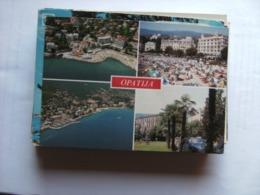 Kroatië Croatia Kroatien Croatie Opatija City And Beach - Kroatië