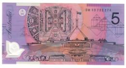Australia 5 Dollars 2005 UNC .PL. - Emissions Gouvernementales Décimales 1966-...