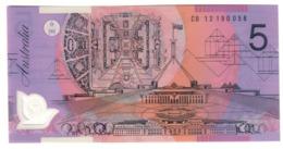 Australia 5 Dollars 2012 UNC .PL. - 2005-... (Polymer)