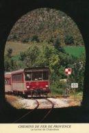 Chabrières (04 - France) Chemins De Fer De La Provence - Autorail SY 1ere Serie + Remorque Billard - Francia