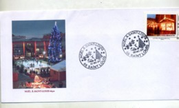Lettre Cachet Saint Louis Noel 2011 Sur Timbre à Moi Marché - Marcophilie (Lettres)