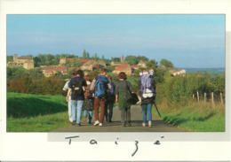 Taizé (Saone Et Loire, France) Ragazzi Verso Taizè, Garcons, Boys - Francia