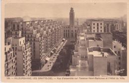 69 - VILLEURBANNE - LES GRATTE-CIEL - VUE D'ENSEMBLE SUR L'AVENUE HENRI BARBUSSE ET L'HOTEL DE VILLE - Villeurbanne