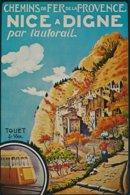 Touët-sur-Var (05 - France) Chemins De Fer De La Provence - Affiche - Schienenverkehr