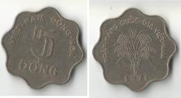 VIET-NAM 5 DONG  1912 - Viêt-Nam