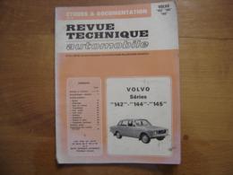 REVUE TECHNIQUE AUTOMOBILE Etudes Documentation VOLVO Series 142 144 145 ETAI - Voitures