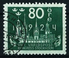 Suecia Nº 174 Usado Cat.45€ - Used Stamps