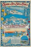 Chemins De Fer De La Provence - Affiche - Ferrocarril