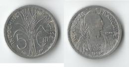 INDOCHINE 5 CENT  1946 - Kolonien