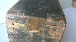 Caisse ( Vide )  Pour Bandes Munitions Mitrailleuse Vickers - 1914-18
