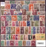 BULGARIA / BULGARIE - 1946 - Anne Complete ** Yv 459/511 + PA 31/49 + Service Dent.12/14 Et Non Dent.11/15 - Komplette Jahrgänge