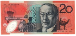 Australia 20 Dollars 2008 UNC .PL. - 2005-... (Polymer)