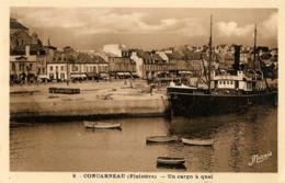 CONCARNEAU - Bateau BIDASSOA - Un Cargo à Quai - Concarneau