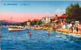 06 - JUAN-les-PINS - La Plage - Antibes