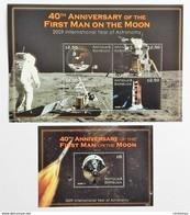 # Antigua & Barbuda 2009**Mi.4693-97 First Man On The Moon,MNH [16;53] - Otros