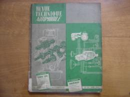1964 REVUE TECHNIQUE AUTOMOBILE 216 SIMCA 1300 R8 MAJOR EQUIPEMENTS ATELIER - Voitures