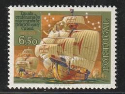 PORTUGAL - N°1050 ** (1969) La Flotte De Cabral - 1910-... República