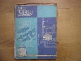 1964 REVUE TECHNIQUE AUTOMOBILE 217 SIMCA 1000 PEUGEOT 403 CONSTRUCTION JAPONAISE - Voitures