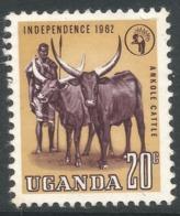 Uganda. 1962-64 Independence. 20c MH. SG 102 - Uganda (1962-...)