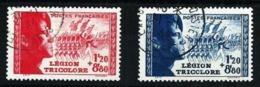Francia Nº 565/6 Usado Cat.25€ - Used Stamps