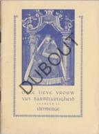 IZENBERGE/Alveringem Onze Lieve Vrouw Van Barmhartigheid - 1949 (R59) - Oud