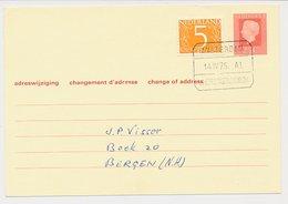 Treinblokstempel : Amsterdam - S Hertogenbosch A1 1975 - 1891-1948 (Wilhelmine)