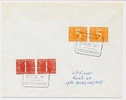 Treinblokstempel : Arnhem - S Hertogenbosch IX 1970 - 1891-1948 (Wilhelmine)
