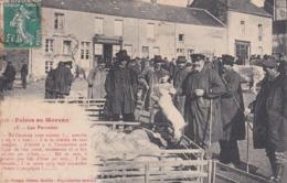 Carte Postale FOIRE En MORVAN  SAULIEU COTE D'OR - Saulieu