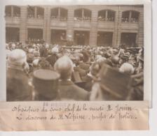 OBSEQUES SOUS CHEF SURETE M JOUIN DISCOURS M LEPINE PRÉFET POLICE 18*13CM Maurice-Louis BRANGER PARÍS (1874-1950) - Photos
