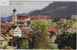 Bludenz - Gesamtansicht - Lithographie Litho - Bludenz