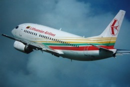 Avion / Airplane /  LITHUANIAN AIRLINES / Boeing B 737-524 / Registered As LY-AGQ - 1946-....: Era Moderna