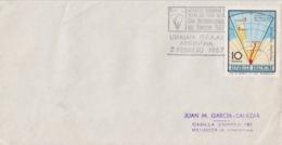 Polaire Argentin, 3 FE 67  N° 776 (exploration Militaire) Obl. Ushuaia Terre De Feu, Année Internationale - Argentine