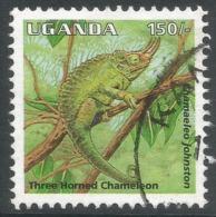Uganda. 1995 Reptiles. 150/- Used. SG 1515 - Uganda (1962-...)