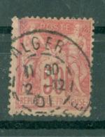 FRANCE - CAD ALGER (CATALOGUE MATHIEU) - 1898-1900 Sage (Type III)