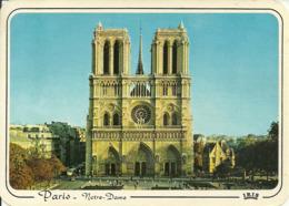 Paris (France) Basilique De Notre Dame De Paris, La Facade, Facciata - Notre Dame De Paris