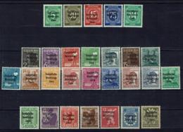 Allemagne - 1948 - N° 3 à 7 + 8 à 23 + 24 à 30 - Neufs Sans Charnières - XX - MNH - TB - - Sowjetische Zone (SBZ)