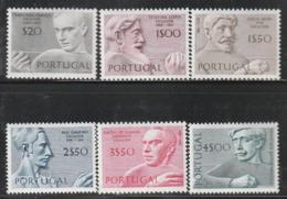 PORTUGAL - N°1110/5 ** (1971) Sculpteurs Portugais - 1910-... Republik