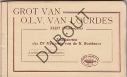 Boekje Met Postkaarten - KLEIT/Maldegem Zichtkaarten XV Mysteriën Van De H. Rozekrans 15 Stuks (R64) - Maldegem